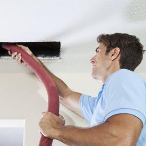 Intake Grill Vacuuming